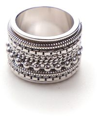 MM6 by Maison Martin Margiela - Embellished Ring - Lyst