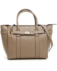 557822493ad John Lewis Mulberry Bayswater Leather Large Double Zip Tote Bag in ...