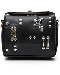 Alexander McQueen - Box 16 Studded Crossbody Bag - Lyst