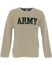Junya Watanabe - Army Sweater - Lyst