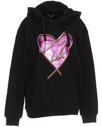 Dolce & Gabbana - Printed Cotton Sweatshirt - Lyst