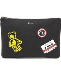 Dior Homme - Multi Patch Clutch - Lyst