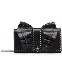 Valentino - Rockstud Bow Chain Shoulder Bag - Lyst