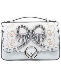 Fendi - Double Micro Top Handle Bag - Lyst