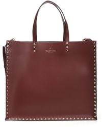 Valentino - Rockstud Shopping Bag - Lyst