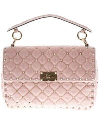 Valentino - Garavani Rockstud Spike Chain Crossbody Bag - Lyst