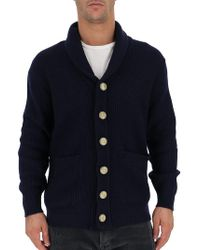Brunello Cucinelli - Cable Knit Button Cardigan - Lyst