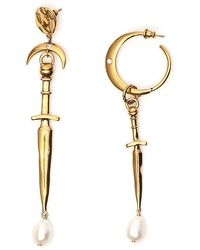 Givenchy - Dagger Pendant Earrings - Lyst