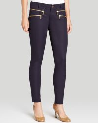 MICHAEL Michael Kors Stretch Twill Zip Pants - Lyst