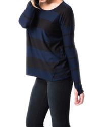Feel The Piece Slater Striped Cashmere Sweater - Lyst