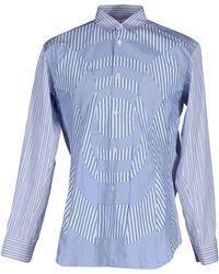 Comme des Garçons | blue Shirt | Lyst