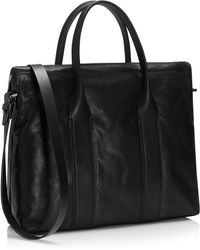 Hugo Emirage  Leather Tote Bag - Lyst