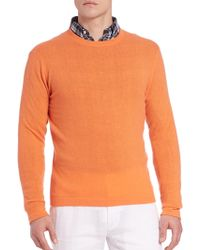 Polo Ralph Lauren   Long Sleeve Cashmere Tee   Lyst