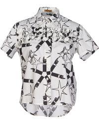 Peter Jensen Shirt white - Lyst
