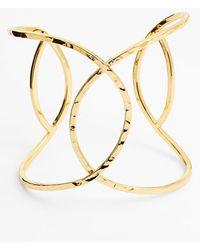 Gorjana Women'S 'Taner' Interlocking Cuff - Gold - Lyst