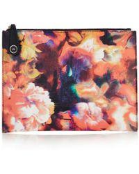 Karen Millen | Beautiful Blurred Floral Pochette | Lyst