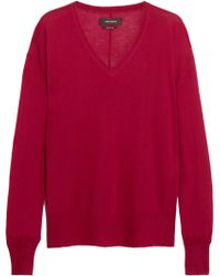 Isabel Marant Tracy Cashmere and Silkblend Sweater - Lyst