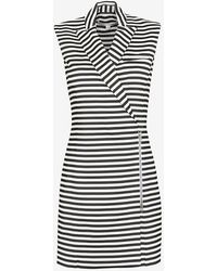 Veronica Beard Striped Blazer Dress - Lyst