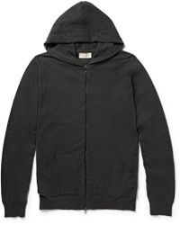 John Smedley Hooded Cashmere Zipped Cardigan - Lyst