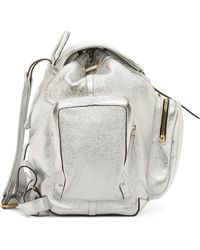 Pierre Hardy Silver Foil Deer Leather Mt Backpack - Lyst