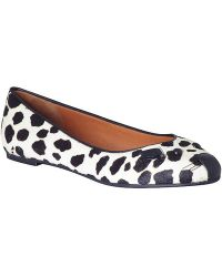 Marc By Marc Jacobs Mouse Spotted Ballerina Flat - Lyst