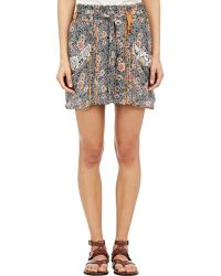 Isabel Marant Ariana Mini Skirt - Lyst