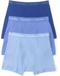 Calvin Klein Classic Boxer Briefs, Pack Of 3 - Lyst