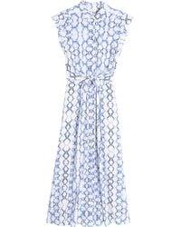 Rebecca Taylor Tie Dye Maxi Dress - Lyst
