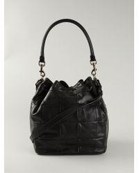 Saint Laurent - Emmanuelle Medium Leather Bucket Bag - Lyst