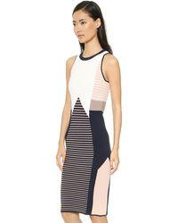 Jonathan Simkhai Knit Dress - Combo - Lyst