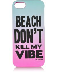 Juicy Couture - Beach Don'T Kill My Vibe Iphone Case - Lyst