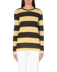 Etoile Isabel Marant Striped Cotton T-Shirt - For Women - Lyst