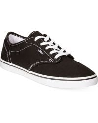 Vans Women'S Atwood Low Lace-Up Sneakers - Lyst