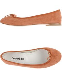 Repetto Ballet Flats brown - Lyst