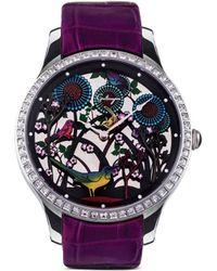 Galtiscopio - 'vie Dans La Foret' Crystal Watch - Lyst