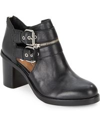 Dolce Vita Clark Leather Ankle Boots - Lyst