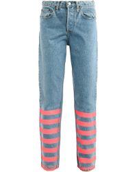Lulu & Co | Vintage Mid-Rise Straight-Leg Jeans | Lyst