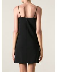 Christopher Kane Panel Embellished Mini Dress - Lyst