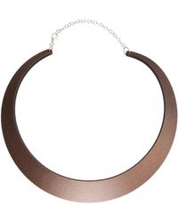 Cooee | Earth Small Necklace | Lyst