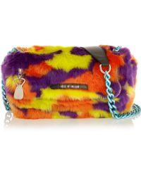 House of Holland - Sausage Roll Faux Fur Shoulder Bag - Lyst