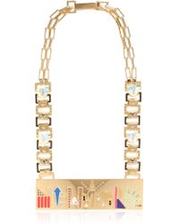 Maria Francesca Pepe City Skyline Necklace - Lyst