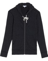 James Perse Vintage Fleece Hoodie - Lyst