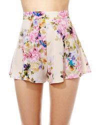 Nasty Gal Oh My Love Marie Short - Lyst
