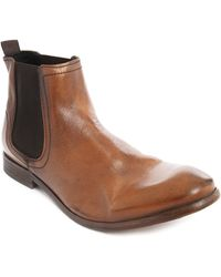 Hudson Boots Patterson Camel Leather - Lyst