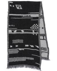 Madewell | Moroccon Boiled Wool Scarf - Sleek Charcoal | Lyst