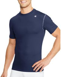 Champion - Double Dry® Short-sleeve Compression T Shirt - Lyst
