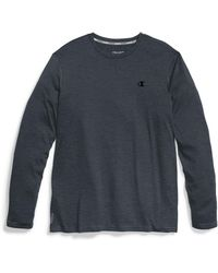 Champion - Double Dry® Heather Long-sleeve Tee - Lyst