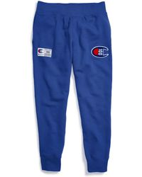 0275e3dd Champion - Century Collection Sweatpants, C100 Chenille Logo - Lyst