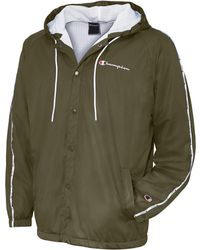 d166e8487660 Lyst - Champion Life® Sherpa Lined Coaches Jacket in Natural for Men