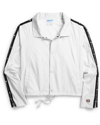 c21e04f0a Cropped Water-repellent Coach's Jacket